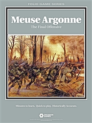 Decision Games: Meuse Argonne: The Final Offensive: Folio Series