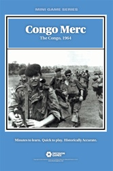 Congo Merc: The Congo, 1964 (T.O.S.) -  Decision Games