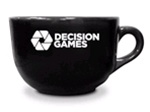 Java Mug with Decision Games logo