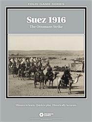Suez 1916: The Ottomans Strike: Folio Series - Decision Games