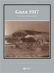Gaza 1917 Gateway to Jerusalem: Folio Series (T.O.S.) -  Decision Games
