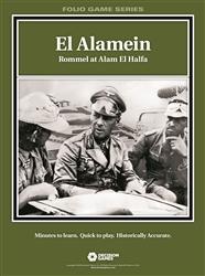 El Alamein: Rommel at Alam El Halfa -  Decision Games