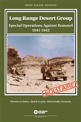 Long Range Desert Group: Special Operations Against Rommel 1941-1942 (Solitaire)