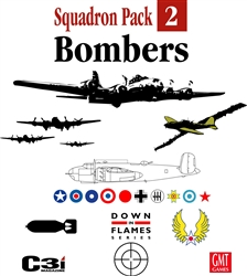Down in Flames: Squadron Pack#2: Bombers